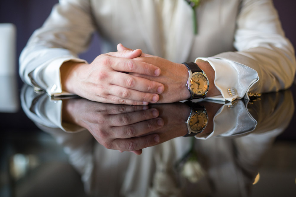 4-foto boda reloj